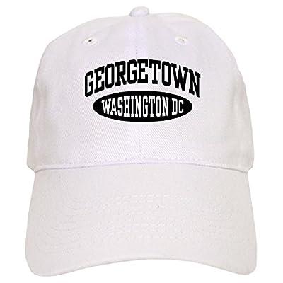 3917f86210a ... authentic cafepress georgetown washington dc baseball cap with  adjustable closure unique printed baseball hat 45d3e 751e6