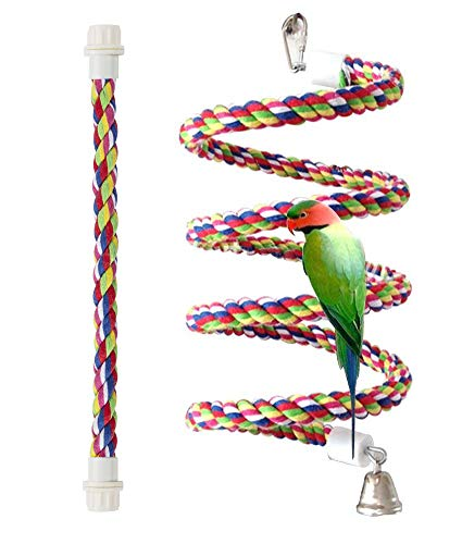 Bird Perch Rope Bungee