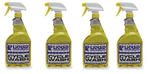 Liquid Performance Racing Premium Cycle Wash - 32oz. 4 (4) by Liquid Performance