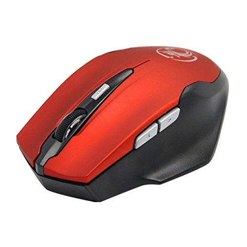 1600DPI 2.4G USB Receiver Optical 6D Gaming Wireless Mouse (Black) - 9
