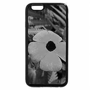 iPhone 6S Plus Case, iPhone 6 Plus Case (Black & White) - Lemon Flower