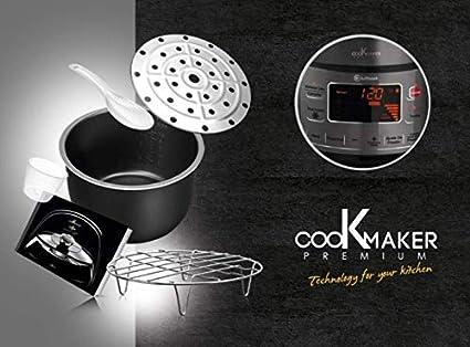 LUFTHOUS Robot de Cocina Cook Maker Premium, 3D Induction, Sergio FERNÁNDEZ: Amazon.es