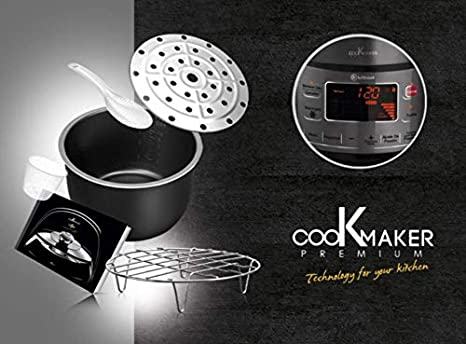 LUFTHOUS Robot de Cocina Cook Maker Premium, 3D Induction, Sergio ...