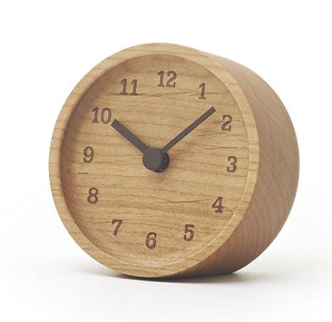 Lemnos LC12 - 05 AD Muku Desk Clock Fresno Reloj de Mesa, Madera ...