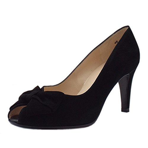 Kaiser 96127 Stila Peter Court Black Sued Shoe 1vw7qz