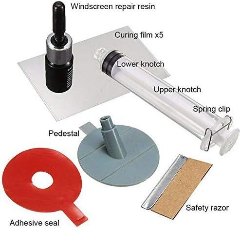 BOLANA Auto Windschutzscheibe Crack Repair Kit Tool Windschutzscheibe Corrector f/ür Car Glass Corrector Reparatur Chips Risse Restore Kit