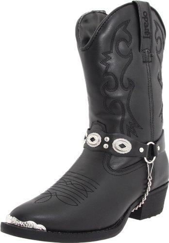 laredo concho harness boots brown - 2