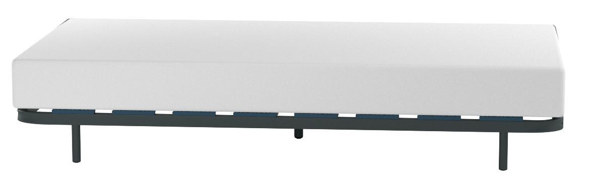 HOGAR24 ES Somier Multiláminas con Reguladores Lumbares, 105x200 cm (5 Patas de 32 cm Incluidas)
