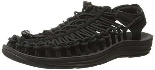 KEEN Women's UNEEK Sandal, Black/Black, 8 M US