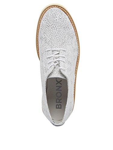 Donna Bmigox 42 Basse BronxBx bianco 1260 Scarpe Stringate 5Tw5qX8