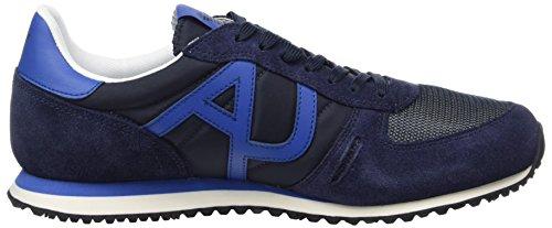 Armani Jeans Herren 9350277p420 Low-Top Blau (blue 1541)