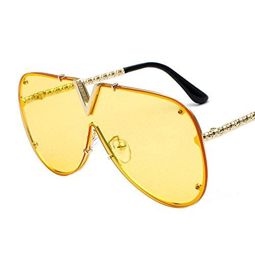 de Axiba de V y siamés Hombres C Tendencia Gafas Sol Gafas Estilo creativos Regalos de Sol de Europea Personalidad Americano YcrqtYdw