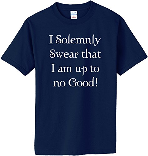 I Solemnly Swear that I am up to No Good! T-Shirt~Heather Gray~Youth-XS