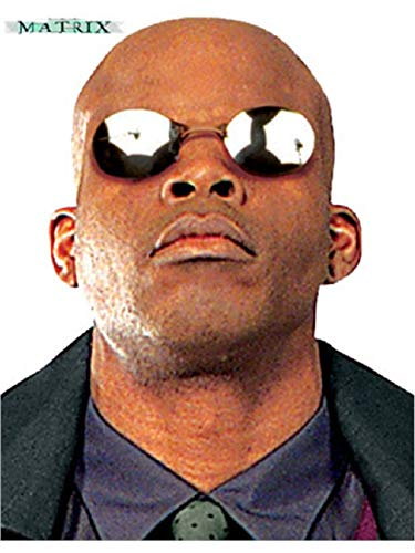 Matrix Morpheus Costume Accessory Glasses Sunglasses -
