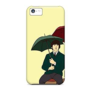 Shock-Absorbing Hard Phone Covers For Iphone 5c With Provide Private Custom Beautiful The Beatles Skin Marycase88
