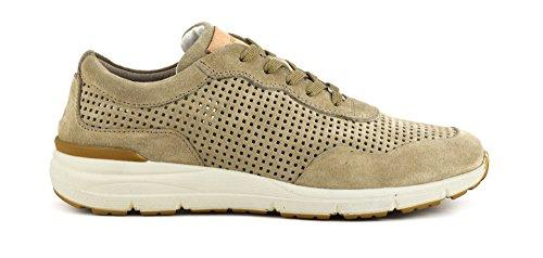 CafèNoir - Sneakers Uomo in Crosta Traforata - Sabbia - Café Noir - PA603 1957 - MPA6031957 - Sabbia, 43