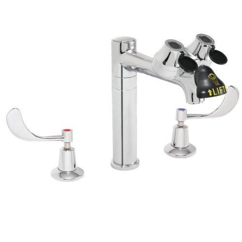 Speakman SEF-1801-8 Eyesaver 8-Inch Spout Widespread Eye Wash Faucet Combination