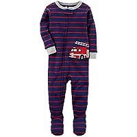 Macacão Pijama Com Pé Bombeiro - Carter's