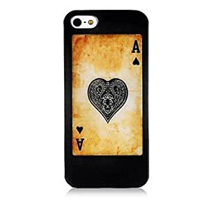 Playing Card Silicone Soft Case for iPhone4/4S