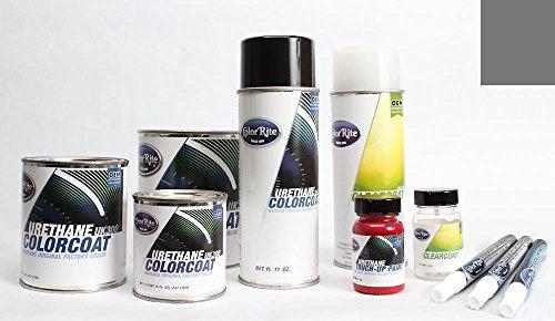 ColorRite Pen Automotive Touch-up Paint for Kia Optima - Titanium Silver Pearl IM - Color+Clearcoat Package