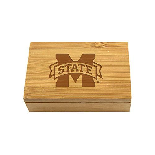 Mississippi State Bamboo Corkscrew Set by The College Artisan (Image #1)
