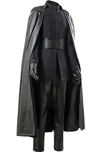 CosplaySky Star Wars 8 The Last Jedi Kylo Ren Costume Halloween Outfit Medium by Cosplaysky (Image #1)