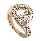 Chopard Happy Diamonds 18K Rose Gold Diamond Round Ring
