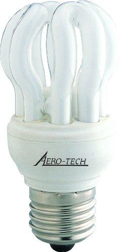 Aero-Tech FS4B-11W, 11-Watt 5000K Energy Saving Evolution Compact Fluorescent Bulb with Medium Base, Full Spectrum