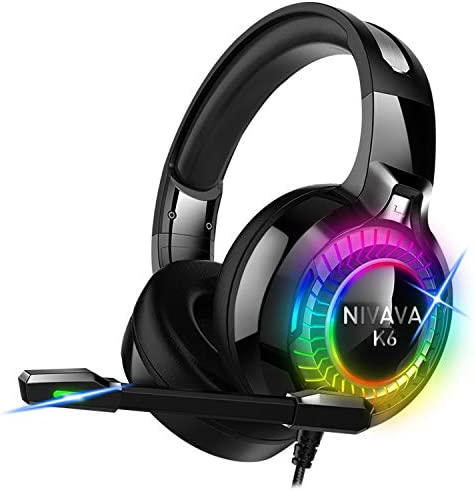Nivava Headphones Microphone Playstation K6 product image