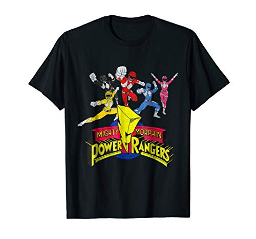 Mighty Morphin Power Rangers Group T-Shirt