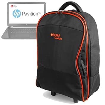 6e6735640926 DURAGADGET Lightweight Laptop Trolley Bag With Heavy-Duty Telescopic Handle  Suitable For HP Pavilion 15 Ci3 8GB 1TB