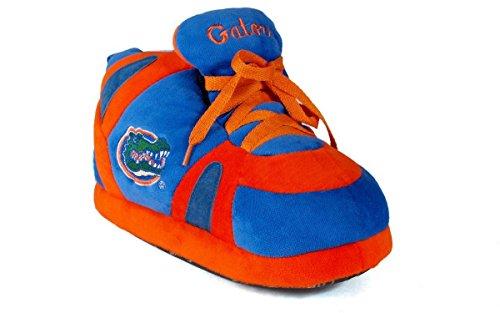 (FLO01-3 - Florida Gators - Large - Happy Feet Men's and Womens NCAA Slippers)