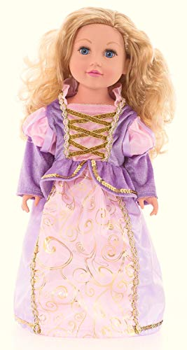 Adventures Rapunzel Doll - Little Adventures Classic Rapunzel Princess Doll Dress