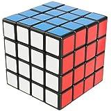HAKATA スピードキューブ 4x4x4 競技用 立体パズル ストレス解消 子供マジック (黑4)