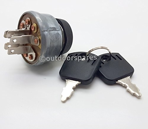 Castelgarden Replacement Ignition Switch For Ride On Mowers Models 43530 Mountfield