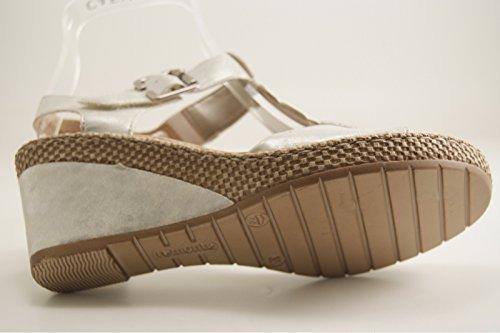 Remonte - Sandalias de vestir para mujer blanco blanco
