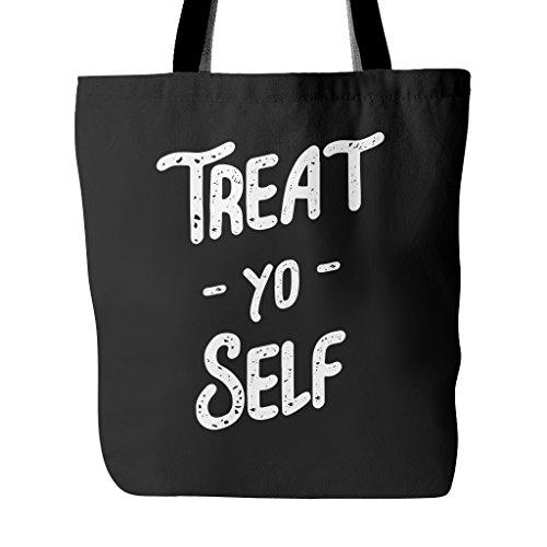 Treat Yo Self Funny Tote Bag (Tote Self Treat Yo)