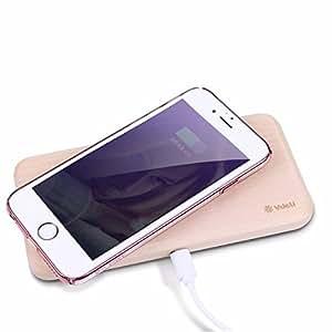 Yongse VDELI Serie Limitless rectángulo de madera de abedul Qi cargador inalámbrico para Samsung Galaxy Note5 S6 ??