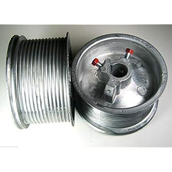 Pair Garage Door Cable Drums for up to 12 High Door Standard Lift 400-12