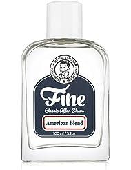 Mr Fine American Blend Mens Aftershave -A Splash Of Classic Barbershop Aftershave for Modern Men - The Wet Shavers Favorite