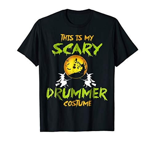 This Is My Scary Drummer Costume Halloween Shirt for $<!--$18.99-->