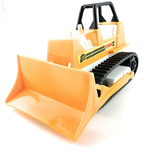 Plastic Yellow Dozer Construction Vehicle Sandbox Toy