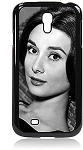 Audrey Hepburn Close-Up- Hard Black Plastic Snap - On Case --Samsung? GALAXY S3 I9300 - Samsung Galaxy S III - Great Quality! by icecream design