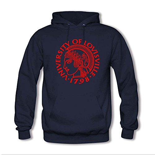 Yuanfang Nong men's University of Louisville Sweatshirt Hoodie XXXL Navy