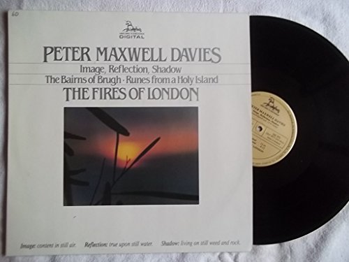 Price comparison product image DKP 9033 PETER MAXWELL DAVIES / FIRES OF LONDON Image Reflection Shadow vinyl LP
