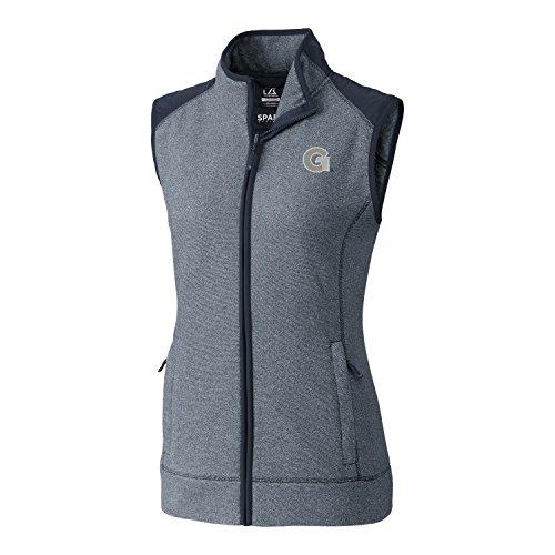 s Adult Women Cedar Park Full Zip Vest, XX-Large, Liberty Navy Heather (Performance Fleece Full Zip Vest)