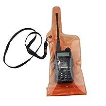 GoodQbuy® Portable Waterproof Radio Case Bag For CB Radio Yaesu Baofeng UV 5R GT-3 UV 82 BF 888S Kenwood Motorola Icom Midland Yaesu VertexWalkie Talkie