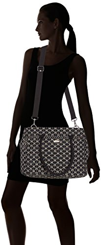 Kipling Artego, Borsa Laptop Donna, One Size Multicolore (Soft Geo)