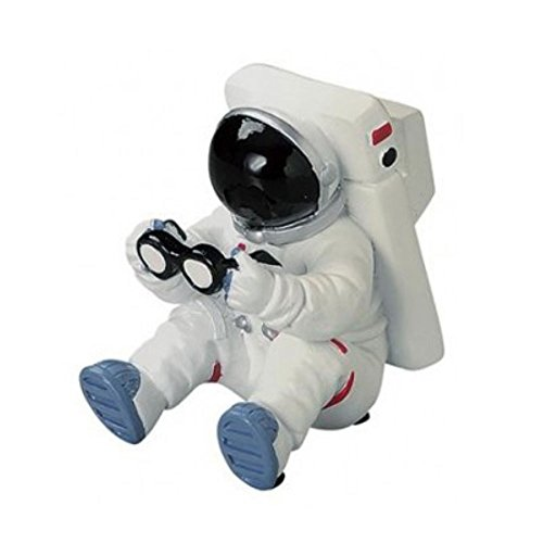 [Original Retail Packaging] Motif. Astronaut Figure Desk Accessory (Glass Stand Mini) - Astronaut Stands