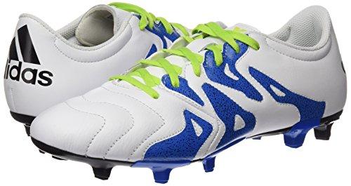 Homme Vert Pour Negbas Fg Chaussures X Cuir Seliso Ag ftwbla Noir Adidas 15 Football Blanc 3 De Av4qz7